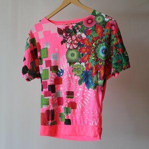 Desigual Pink Shirt